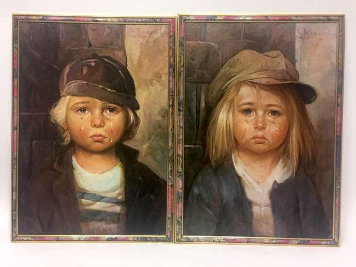 Kind bild bragolin weinendes Die weinenden