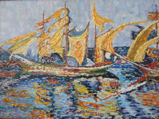 Tamara Sanina. Yellow sailboat - photo 0