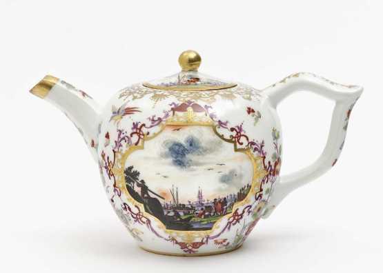Teapot Meissen, porcelain | 1735 year