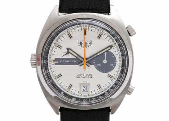 Vintage montre homme chronographe HEUER CARRERA
