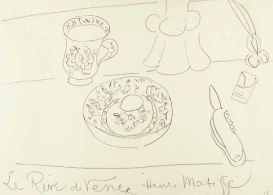 Henri Matisse. Le rêve de Vence   1919