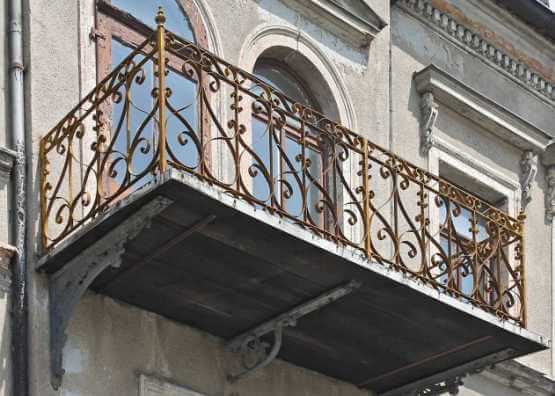 Balcon de style Wilhelm | vers 1890