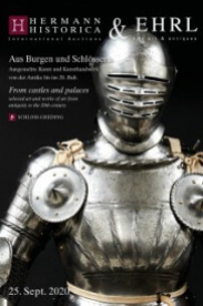 From castles and palaces - selected arts and crafts from antiquity to the 20th century.