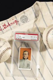 Home Plate: une collection privée d'importants souvenirs de baseball