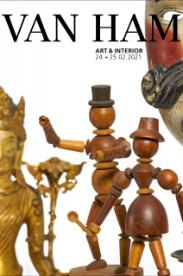 A463 - Art & Interior: porcelain, art nouveau, silver and furnishings
