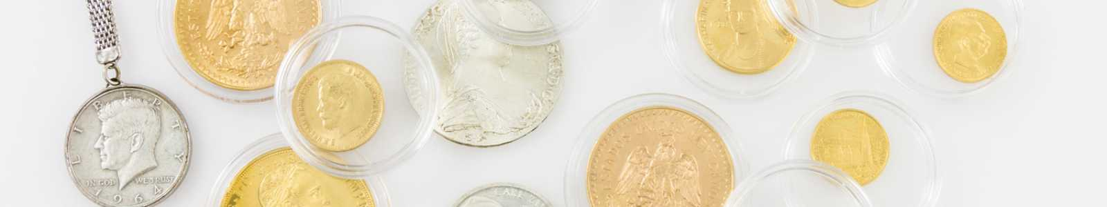 COINS, MEDALS, stamps and banknotes