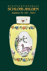 Auction 181 / Part I: Modern ceramics, silver, porcelain