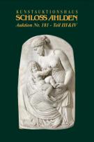 Vente aux enchères N ° 181 / Partie III: Miniatures, objets de vitrine, argenterie et sculptures