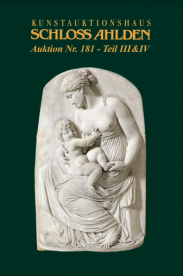 Auktion Nr. 181/Teil III: Miniaturen, Vitrinenobjekte, Silber und Skulpturen