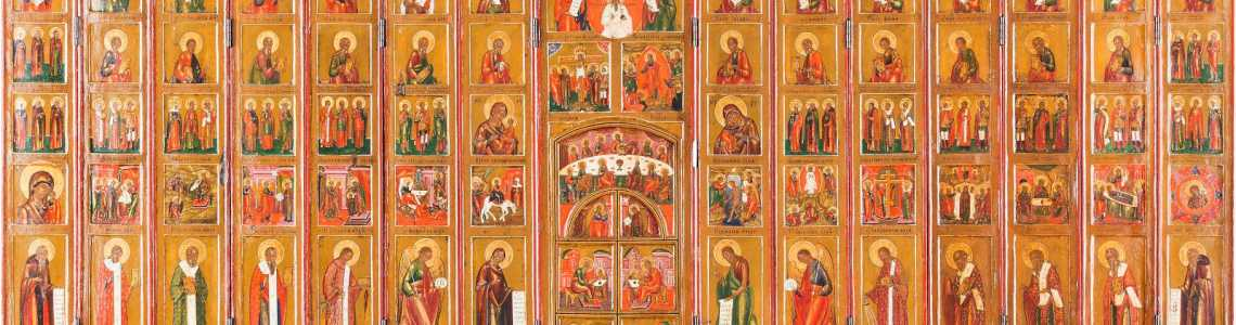 Important Russian & Greek icons Part I