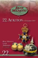 22. Auktion: Orden und Ehrenzeichen