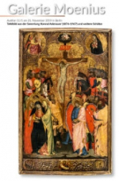 Panel painting from the collection of Konrad Adenauer and other treasures