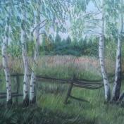 Painter lyudmila Yancnenko