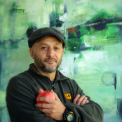 Painter Nick Japaridze