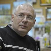 Painter Valeriy Ushkov