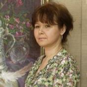 Painter Alexandra Berezovenko