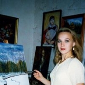 Painter Svetlana Mishchenko-Sapsay