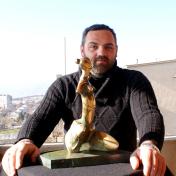 Sculptor Merab Khutashvili