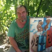 Painter Alik Danilov