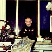 Painter Nikolay Larin