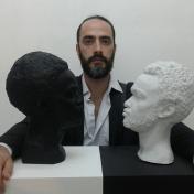 Sculptor Evgeny Gomanov
