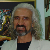 Painter Valery Okarsky