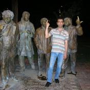 Sculptor Karen Terzyan
