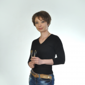 Painter Galina Kolomenskaya