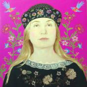 Painter Nadezda Kasatkina