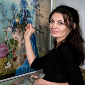 Painter Agrafena Handzyuk