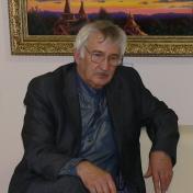 Painter Viktor Babkin