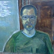 Painter Kanat Bukezhanov