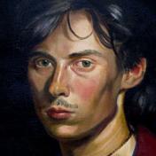 Painter Mikhail Kartuzov