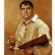 Painter Viktor Artamonov