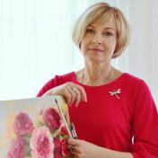 Painter Ruslana Pohorila