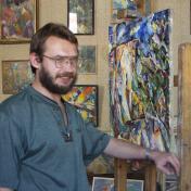 Painter Nikolay Arzhanov