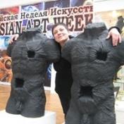 Painter Irina Krinitsina
