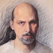 Painter Sergey Karpukhin