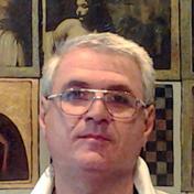 Painter Kakhaber Tatishvili