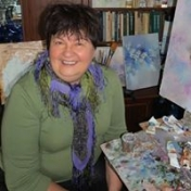 Painter Tatiana Zaretzkaya