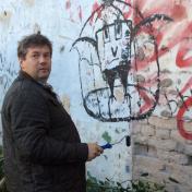 Painter Vladimir Murtazin