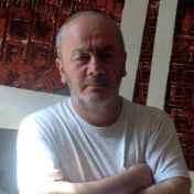 Painter Zurab Gikashvili
