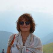 Painter Svetlana Nemontova