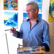 Painter Oleg Ryzhkov