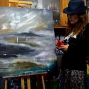 Painter Maka Kvartskhava