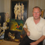 Painter Stepan Fedorenko
