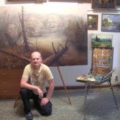 Painter Gennadyi Sharoikin