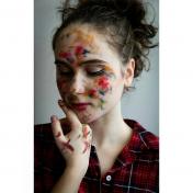 Painter Kateryna Ganina