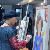 Peintre qetevani khajomia