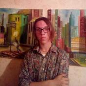 Painter Pavel Novikov
